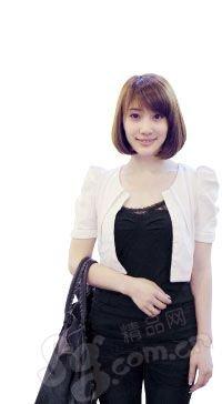 街拍18位嘉祥街头美女靓发-街拍18位北京街头北京美女吧图片