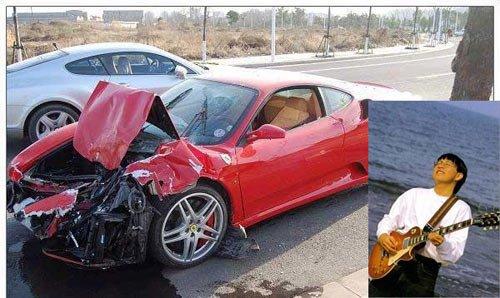 遭遇车祸的明星 谁最惨