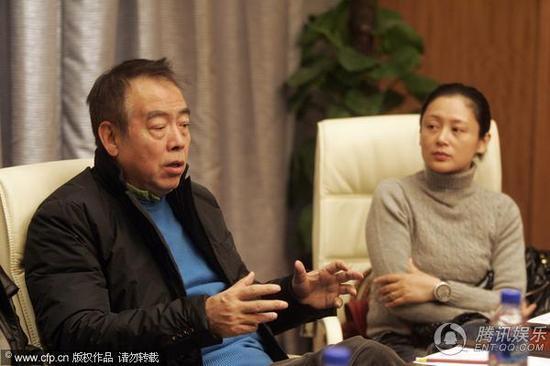 陈凯歌明年拍《沙门空海》 陈红素颜花容不再