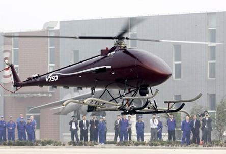 中国最大无人直升机首飞成功(图)