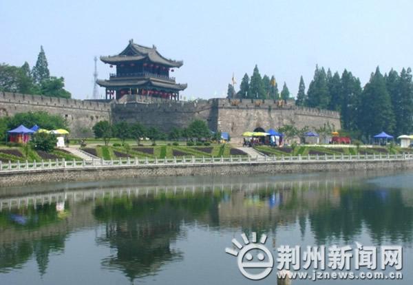 荆州旅游景点图片_荆州旅游景点图片美丽的荆州古城旅游图片