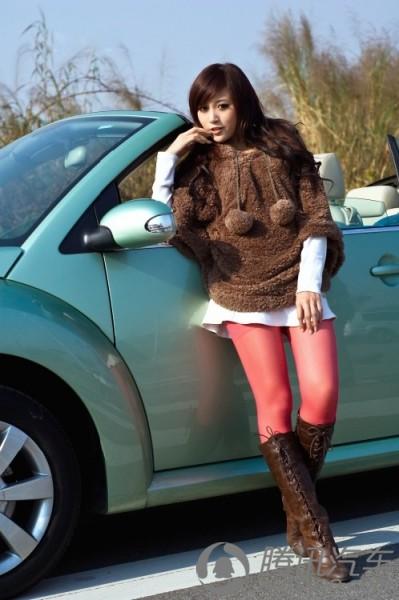 美女; 网友kiki穿出冬天里的美丽;