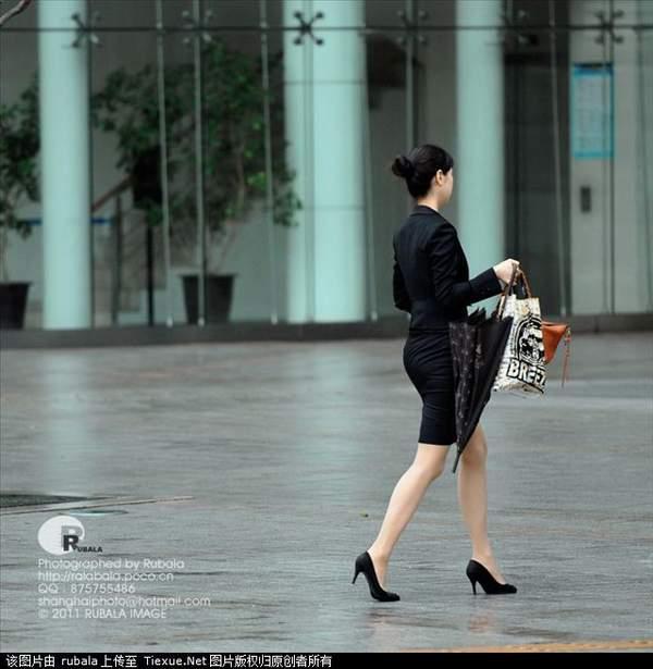 韩国街头美女壁纸图片