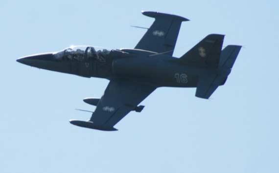 事故发生后,法国飞行员驾驶的战机试图着陆,立陶宛飞机的飞行员则从