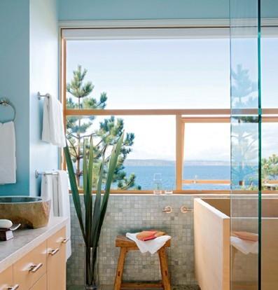 复古浴室装修风格 日式卫生间装修设计-复古日式装修设计风格