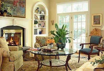 欧式客厅 优化沙发与客厅空间布局