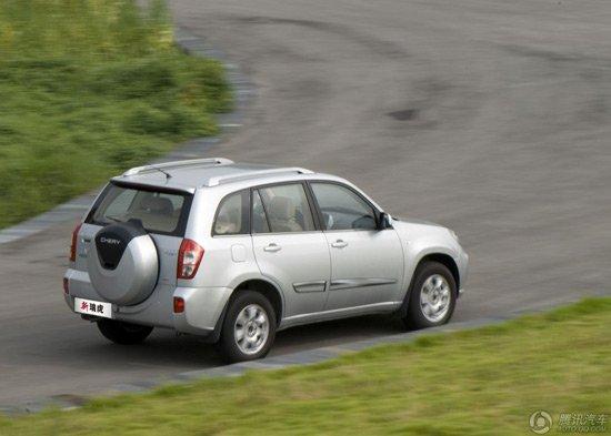 现款奇瑞瑞虎SUV车型-新奇瑞瑞虎上市 售8.48 12.38万