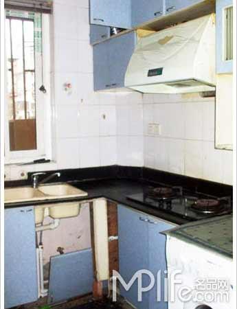 装修前的40平米单身公寓装修高清图片