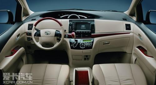 2012款丰田PREVIA普瑞维亚强势登陆中国市场