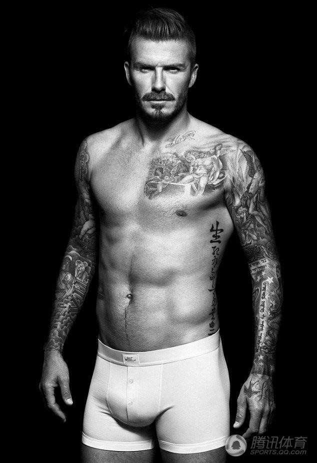 冠军 大卫·贝克汉姆David Beckham:英国足球运动员,现年37岁.-