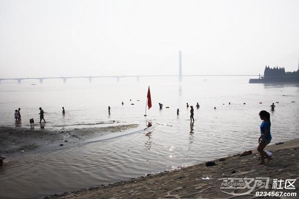 冬泳协会旗帜图片