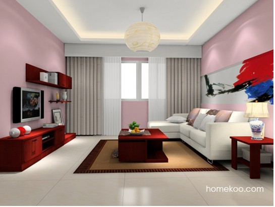 个性客厅装修效果图 打造温馨舒适家