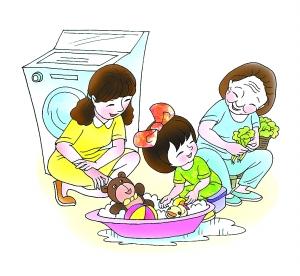您的宝宝做家务吗? 爱孩子,就让他一起做家务图片
