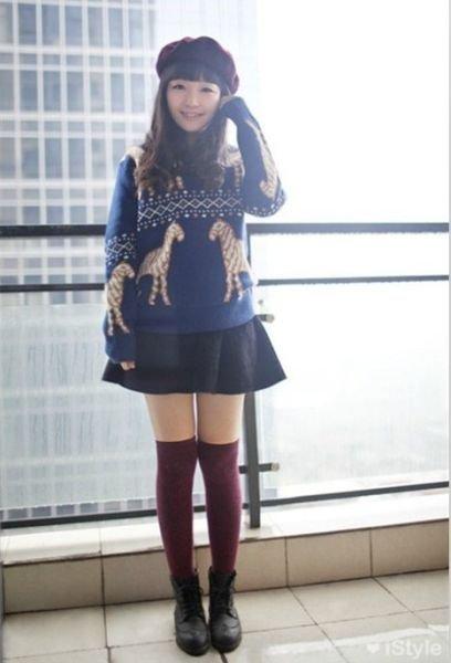 示范最美冬装搭配-马丁靴|一览