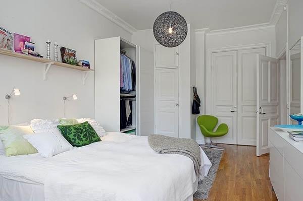 精致玲珑温馨空间 小户型卧室设计(组图)