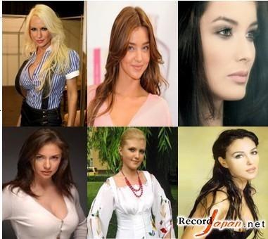 全球美女最多排行榜新鲜出炉