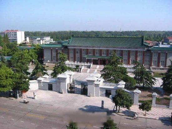 图为荆州博物馆.