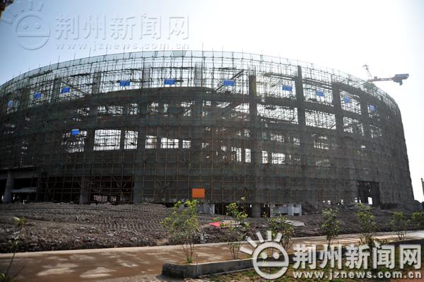 今年12月 荆州奥体中心体育馆焕然一新迎嘉宾