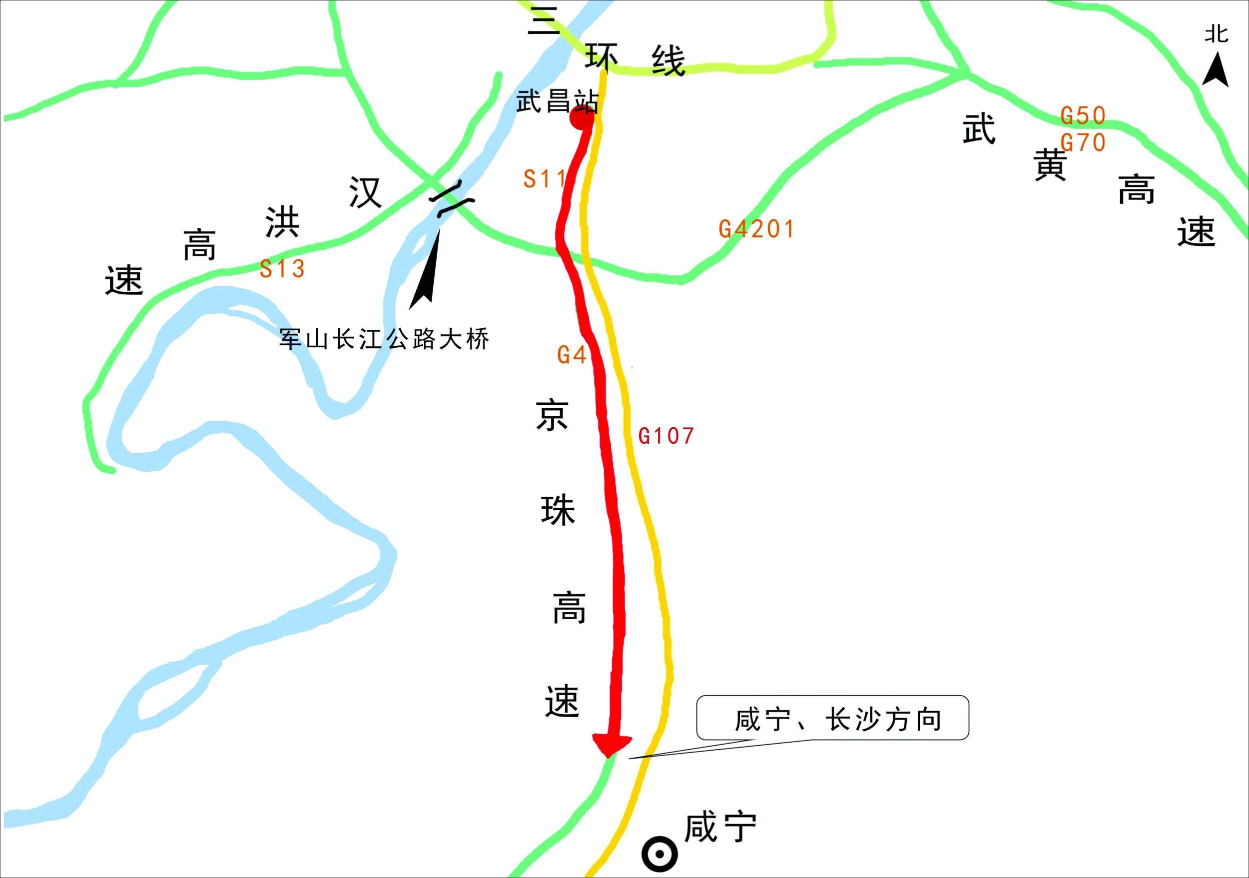 鄂州梁子湖风景区地图