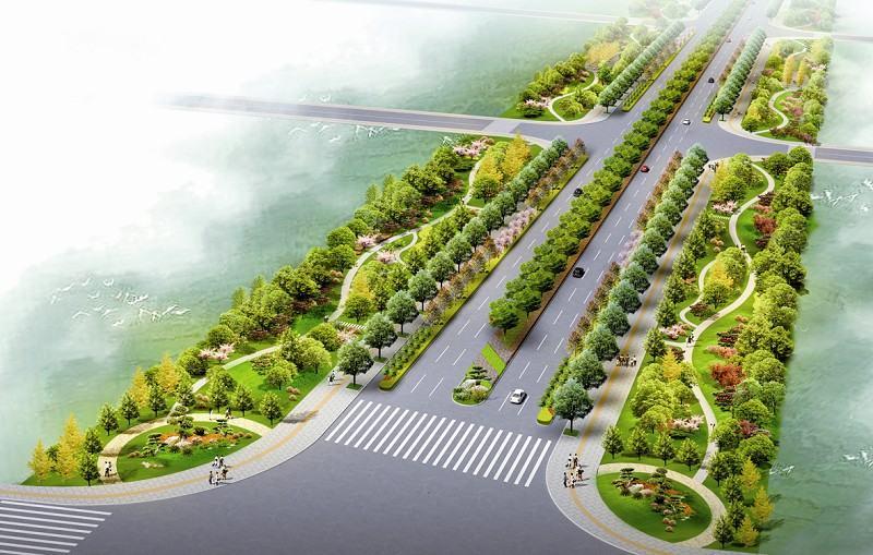 明年1月襄阳6条道路变身特色景观大道(图)