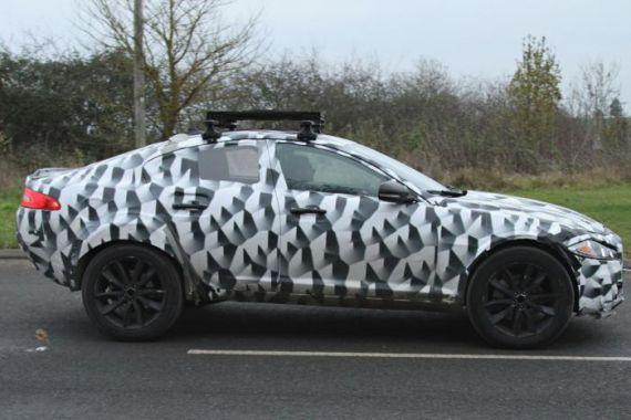 捷豹新款SUV谍照曝光 基于全铝平台高清图片