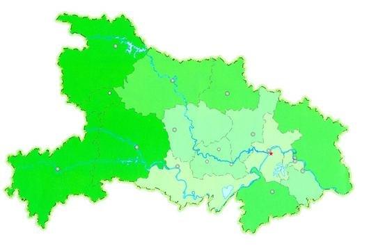 湖北森林面积增加近一倍(图)