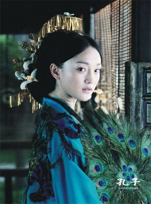 中国最美古装美女 王祖贤李若彤高圆圆刘亦菲周迅 竖