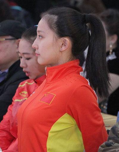 体操美女张豆豆领衔 盘点历届体育女神|国内新闻 竖
