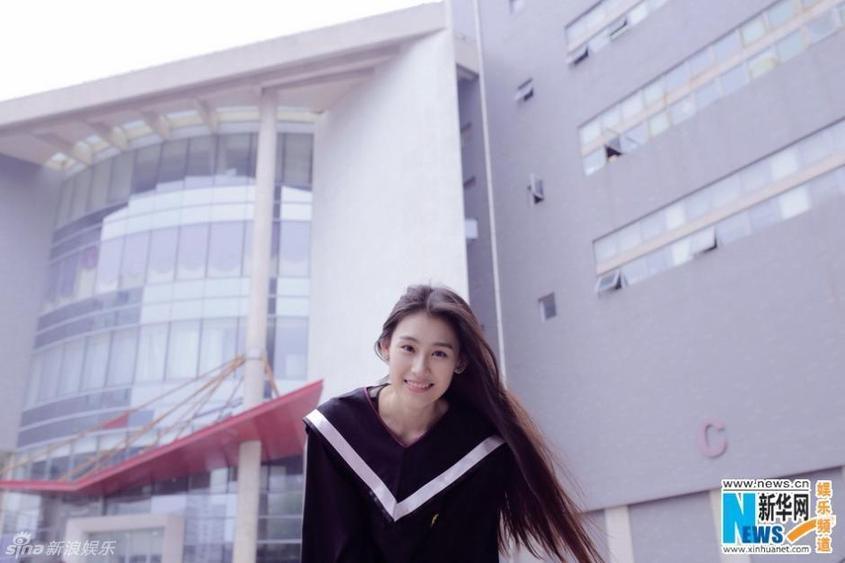 北影校花王婉中毕业照
