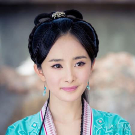 杨幂郑爽争第一古装美女