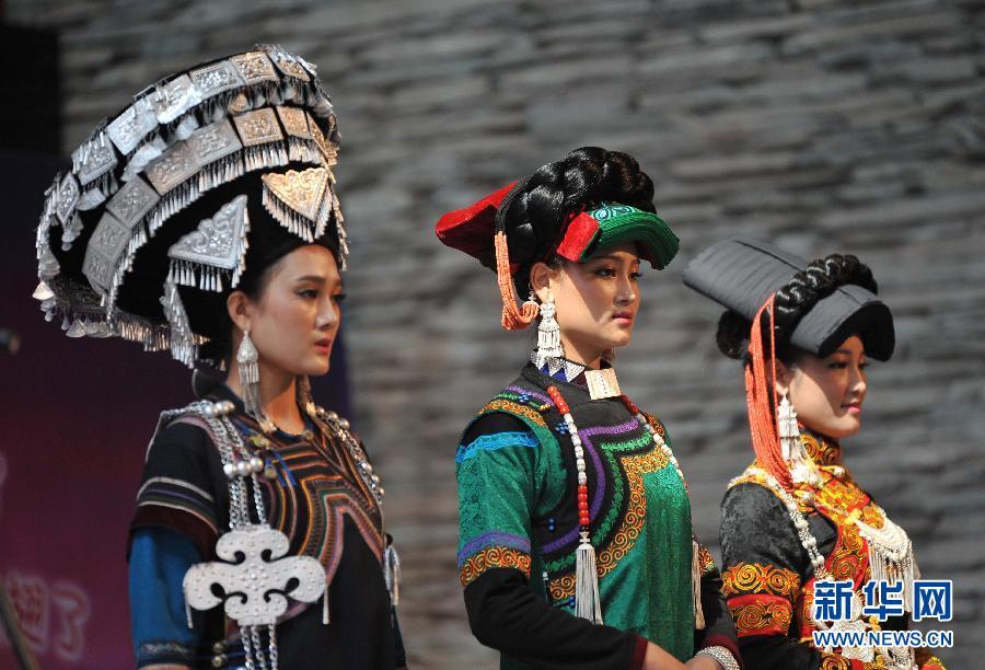 彝族美女阿依现身凉山彝族的选美 次活动已有上千年的历史