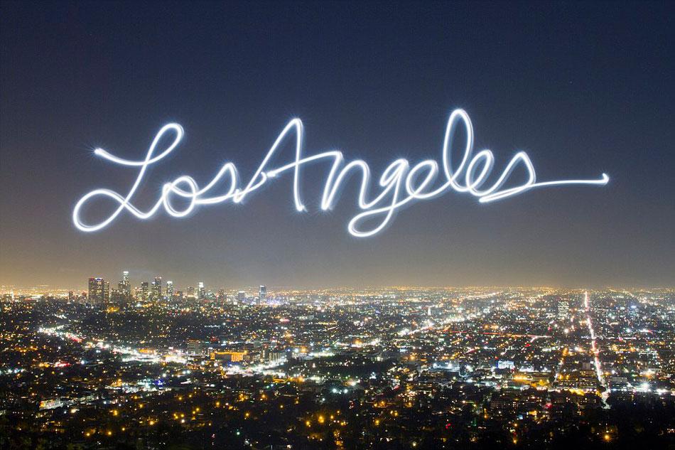 艺术家设计创意光影明信片向城市致敬(组图)