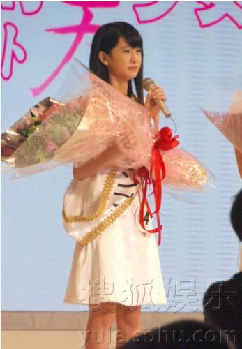 日本选拔国民美少女 12岁清纯初中生夺冠组图
