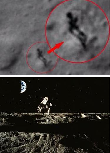 月球卫星照片现人影 网友神吐槽:是嫦娥在奔月!