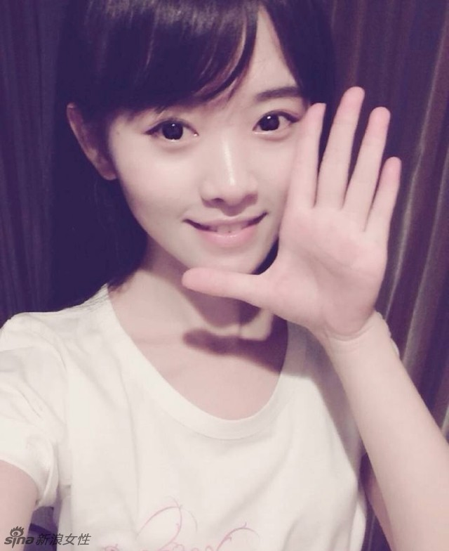 日本网友选中国第一美女 萌妹鞠婧袆当选 国