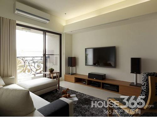 电视背景墙设计 大气时尚简约风格