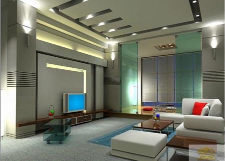 客厅吊顶装修效果图 细节展现创意