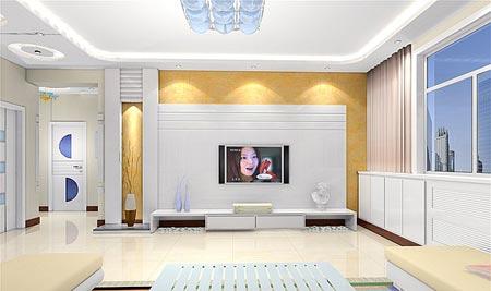 客厅吊顶效果图之现代时尚吊顶-客厅吊顶装修效果图 细节展现创意