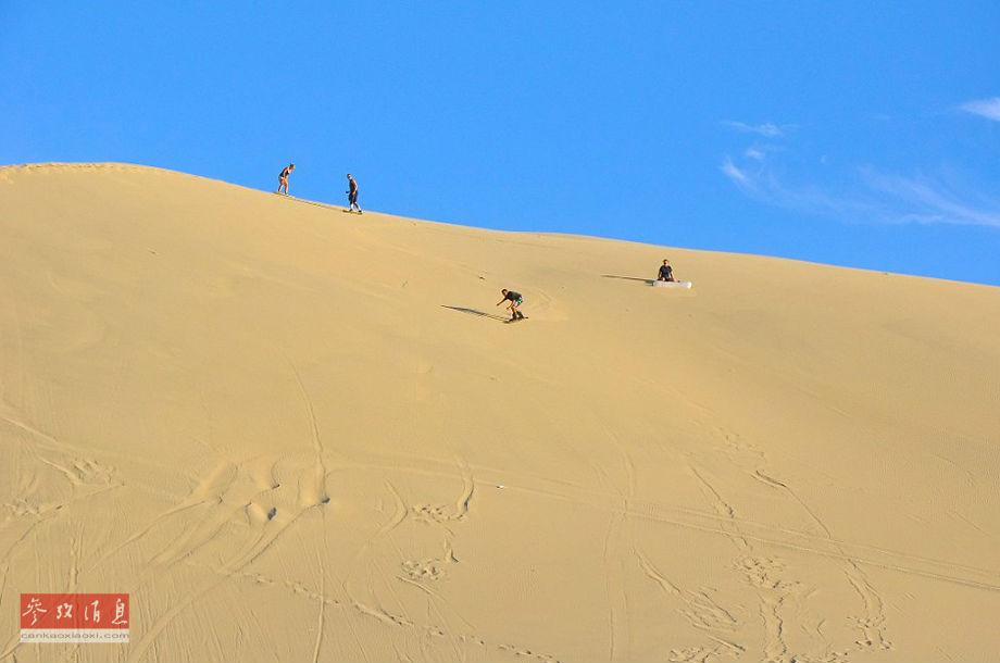 这不是海市蜃楼 沙漠中的神奇绿洲图片