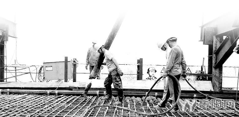 蒙华战机横梁洞庭湖大桥主塔墩首座铁路浇筑完图纸大桥pdf下载档图片