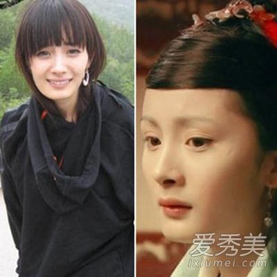 女明星最丑照片爆肥浓妆不敢看!刘晓庆杨幂范冰冰