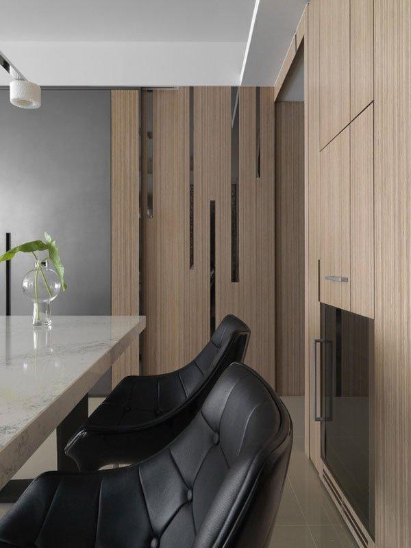 东方禅意元素 治愈系时尚公寓装修效果图