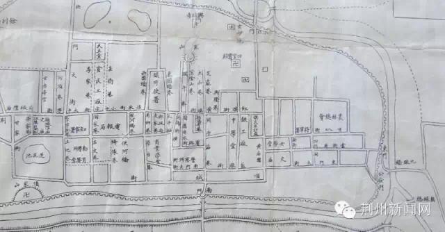 荊州版手繪旅游地圖出爐,你家也被畫上去啦!——