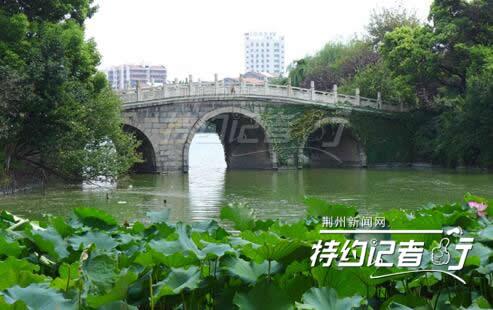 它是便河上的一座单孔石桥