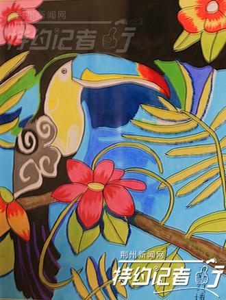 特约记者行:童真童心童趣的儿童画—荆州社会—荆州
