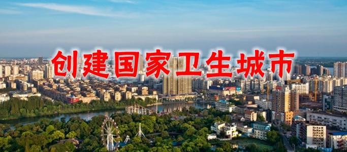 2017年 荆州市创建国家卫生城市
