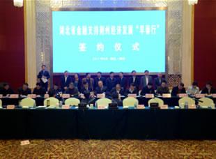 """杨智出席湖北省金融支持荆州经济发展""""早春行""""座谈会"""