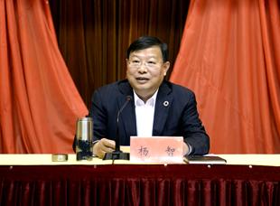 杨智:切实把建议提案办理工作办实办好