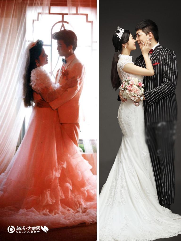 皱纹纸婚纱制作步骤