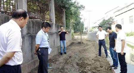 省政府督查沙市区乡镇生活污水治理工作